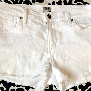 CITIZENS OF HUMANITY COH WHITE JEAN SHORTS 27